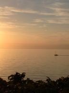 Sunset on the north coast of Sjælland
