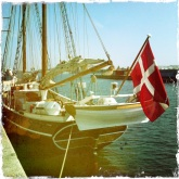 Beautiful yachts in the CPH harbour