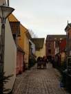 The old-world streets of Odense
