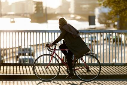 A typical Copenhagen Cycle Chic shot