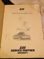 The SAS Service Partner cook book