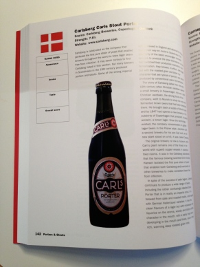 Denmark's one entry into the beer book
