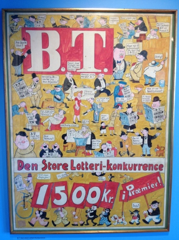 A Storm. P cover of newspaper BT