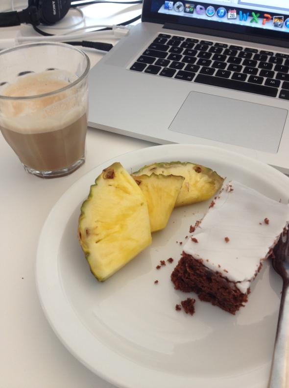 Twice weekly cake, plus free coffee!
