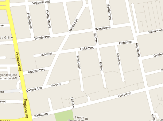 A small selection of the great street names on Amager