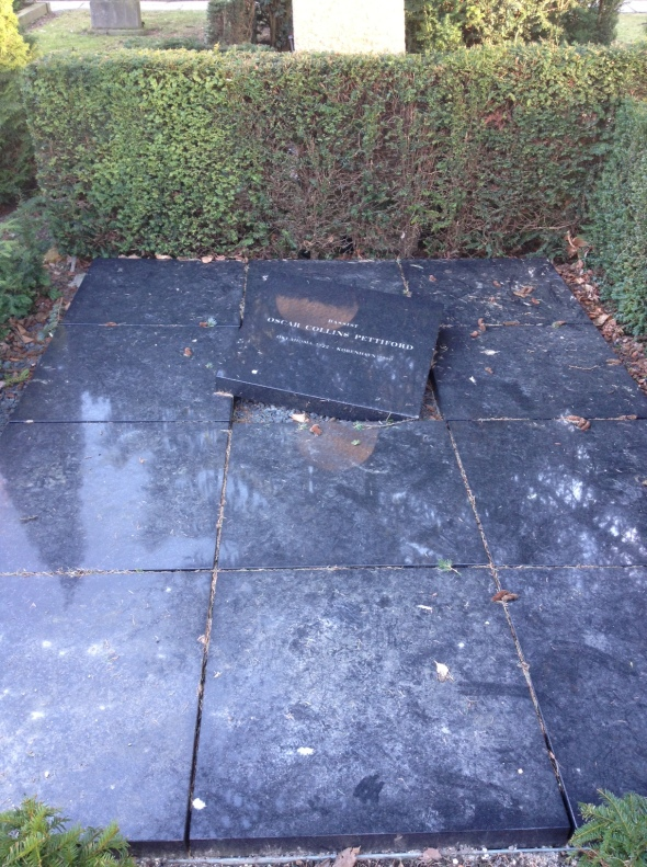 Oscar Pettiford's grave