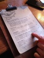 Lidkoeb's menu