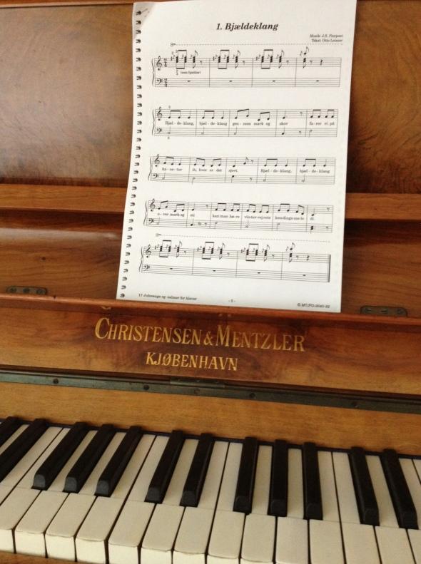 A vintage piano