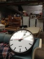 Giant station clock, anyone?