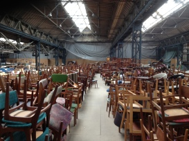 The enormous chair aisle