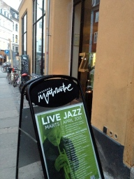Live jazz at Jazzhus Montmartre.