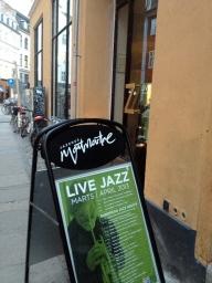 Live jazz at Jazzhus Montmartre.