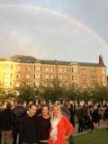 A rainbow. Super!