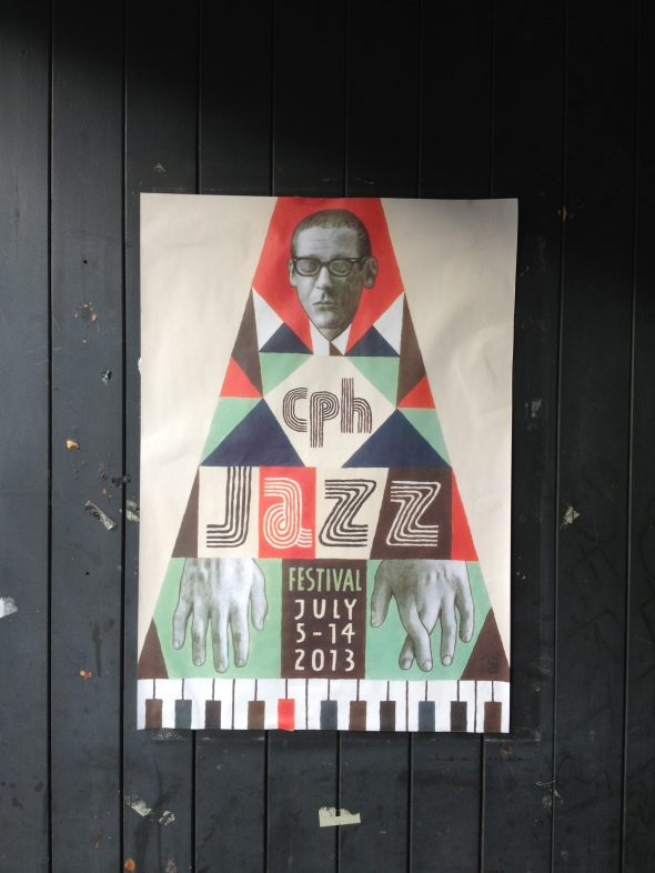 2013 poster for CPH Jazz Festival