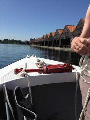 Around Christianshavn on Eric & Cecelia's boat