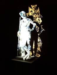 Light installations at Thorvaldsens Museum