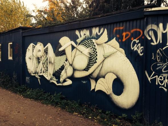 Christiania graffiti