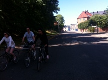 We hit the bikes with Kelly & Geoff