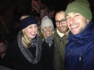 Selfie! Kate, Dorte, me and Alex