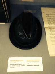 Ben Webster's leather hat