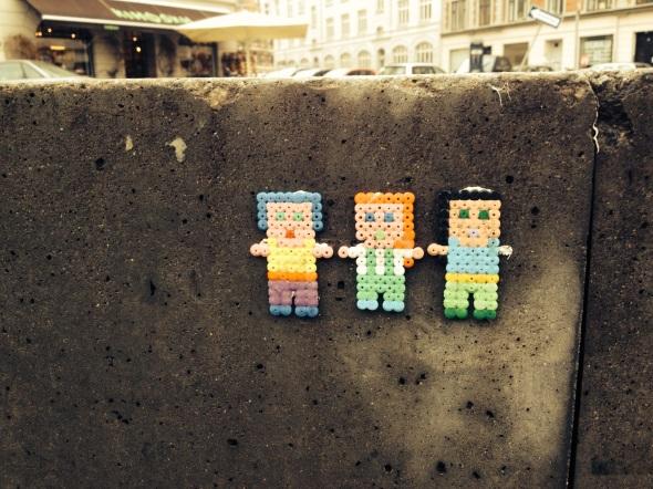 Street art on Sønder Boulevard