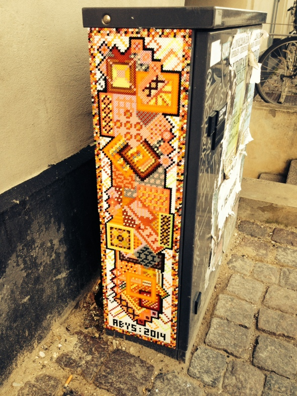 Bead art on Ingerslevsgade