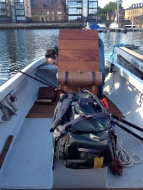 Kit and rods on board