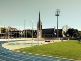 Some of the athletics facilities