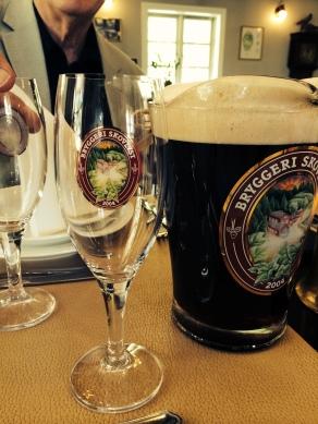 Beer 1 - a sweet dark one