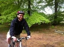 Me. On a bike.