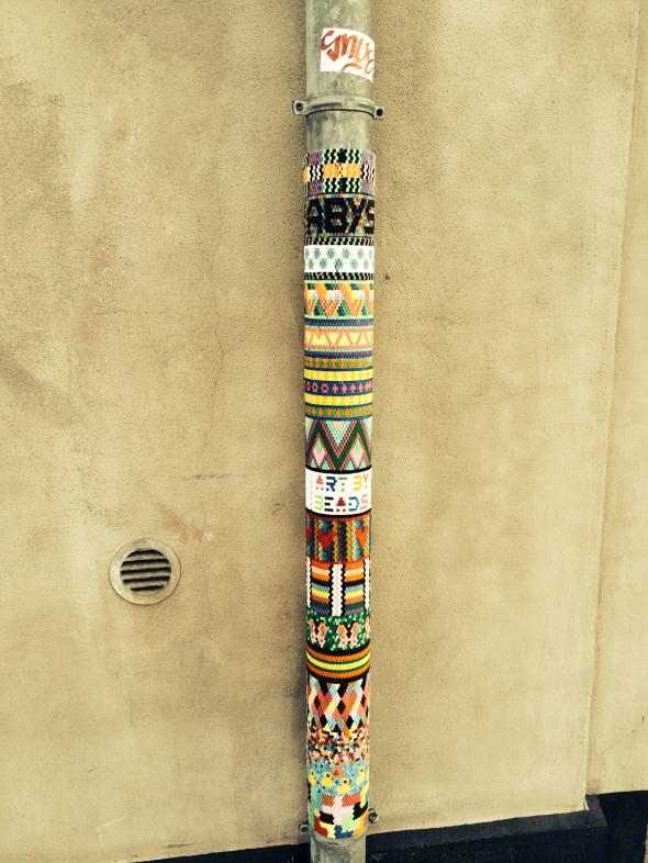 Lamp-post beads