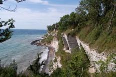 The cliffs at Stevns Klint